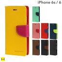 iPhone6 iPhone6s ケース 手帳型 Mercury ダイアリー 【スマホケース 手帳 iphone6 ケース レザー iphone6s 手帳型ケース カードホルダー アイフォン6 iPhone 6 ストラップホール 】