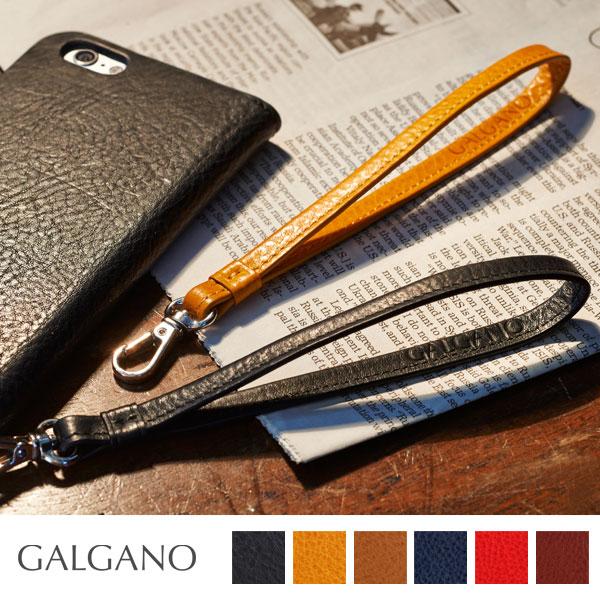 GALGANOガルガーノ BADALASSI CARLO社製牛革使用 レザーリストストラップ
