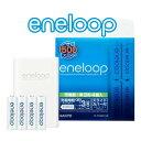 新エネループ(eneloop) 充電式ニッケル水素電池  充電器-単3形4本【防災グッズにも!】