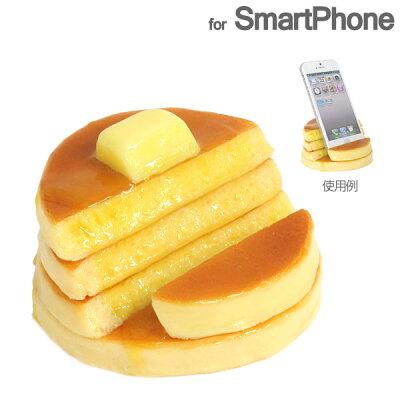 スマホスタンド iPhone スマートフォン各種対応 職人本気の国産・食品サンプルが実用的スマホス...