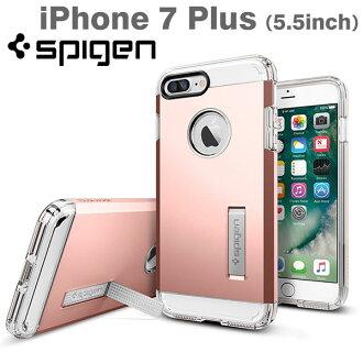 [iPhone 7 Plus專用]Spigen iPhone情况Tough Armor(Rose Gold/玫瑰黄金)[RCP]