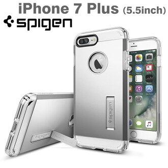 [iPhone 7 Plus專用]Spigen iPhone情况Tough Armor(Satin Silver/段子銀子)[RCP]