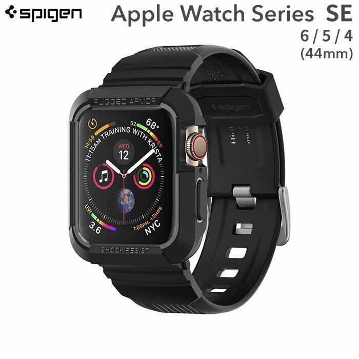 腕時計用アクセサリー, その他 Apple Watch Series 4(44mm)Spigen Rugged Armor Pro ()