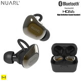 NUARL Bluetooth5.0対応 HDSS搭載 IPX4 完全ワイヤレスイヤホン NT01AX(ブラックゴールド)【NT01AX-BG イヤホン ヌアール 完全 ワイヤレスイヤホン 完全ワイヤレス イヤホン bluetooth android iphone】