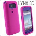 LYNX 3D ドコモ SH-03C用シリコンカバー(ピンク)【リンクス】【リンクス3D】【ケース】【SH03C...