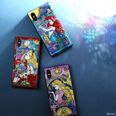 ステンドグラス風デザインが美しい。アリス・アリエル・ラプンツェルのiPhoneケース
