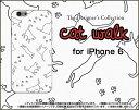 【メール便送料無料】iPhone XiPhone 8iPhone 8 Plus7/7 PlusSE6/6s 6 Plus/6s Plus5/5sハードケース/TPUソフトケースキャットウォーク(モノトーン)[ 雑貨 メンズ レディース プレゼント 激安 特価 通販 ]
