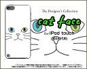 【メール便送料無料】iPod touch 6GiPod touch 5Gハードケース/TPUソフトケースキャットフェイス(ホワイト)[ アイポッドタッチ アイポットタッチ ケース カバー ][ 雑貨 メンズ レディース プレゼント 激安 特価 通販 ]