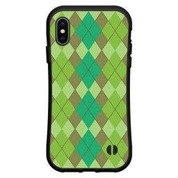 iPhone Xアイフォン テンdocomo au SoftBank落としても割れにくい驚きの衝撃吸収力豊富なオリジナルデザイン耐衝撃 ハイブリッドケースArgyle(アーガイル) type003