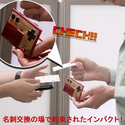 〔予約〕課長ON!Nintendoファミコンコントローラー型名刺ケース〔10月下旬〜11月初旬発売予定〕【02P27July09】
