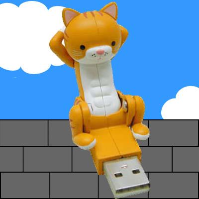 【 ポイント3倍 !】【02P25May12】腹筋猫 ふっきん にゃんこ USB ( トラ )0916【 11%OFF 】【...