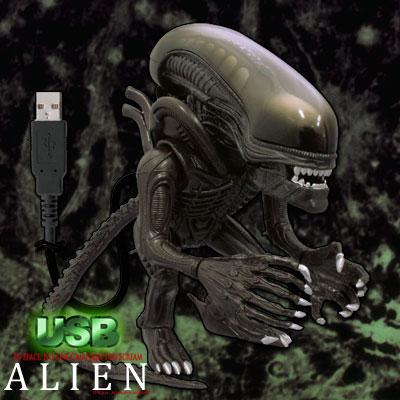 〔在庫アリ!〕インナーマウスが飛び出し、口の中が赤く光る!USB ALIEN(USBエイリアン)0939★kitchen0628★