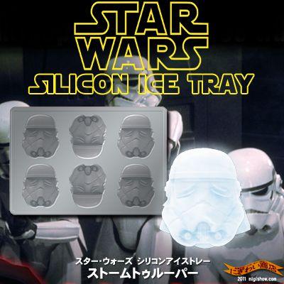 〔予約:2012年1月頃入荷予定〕STARWARSシリコンアイストレーストームトルーパー【スターウォーズ-siliconeicecubetrayStormtrooper-】