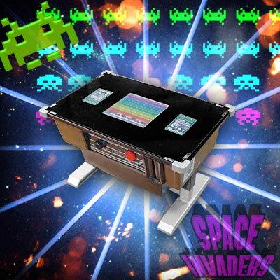 【予約】スペースインベーダー30周年記念◆なつかしの喫茶店ゲーム筐がお家で蘇る!インベーダーバンク貯金箱【3月下旬入荷予定】
