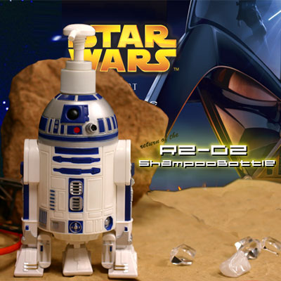 【STAR★WARS】STARWARS☆スターウォーズシャンプーボトル【R2-D2ShampooBottle】★0226-point★【10B】