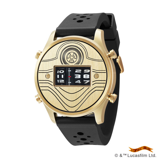 STAR WARS Roller watch by FUTURE FUNK rubber band model(C-3PO)