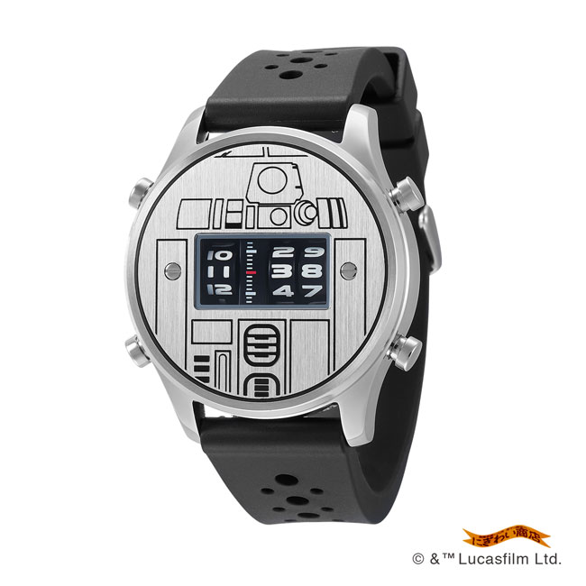 STAR WARS Roller watch by FUTURE FUNK rubber band model(R2-D2)