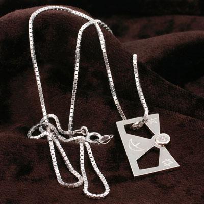 Charismafortunnavigator string Enix official brand ☆ E-GOD Silver Pendant (elements)