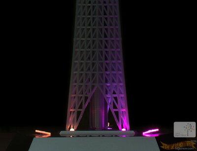 リニューアル版1/1000TOKYOSKYTREE-NNEW1/1000スケール東京スカイツリー