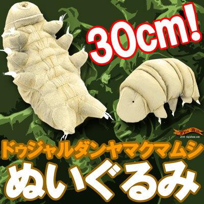 最強生物クマムシ『ドゥジャルダンヤマクマムシぬいぐるみLサイズ』【送料無料】【全長30センチの大きな大きなクマムシくんがヌイグルミになったよ】【RCP】【誕生日プレゼントに】