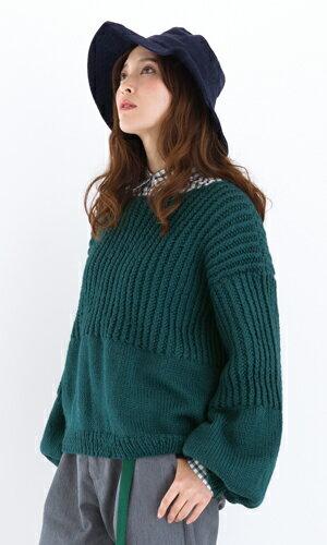 作品♪tricot12-1ゆったりセーター