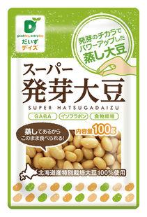【1〜4個はメール便対応】【だいずデイズ】スーパー発芽大豆 100g