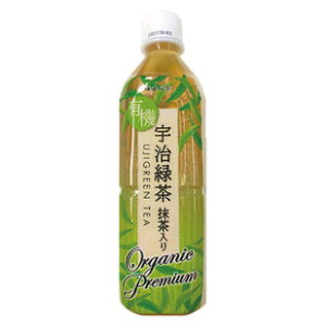Organic Uji green tea with matcha (plastic bottle) 500ml [Kaito Brothers]