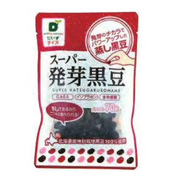 【1〜4個はメール便対応】【だいずデイズ】スーパー発芽黒豆70g