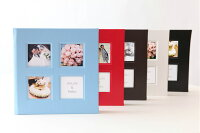 結婚アルバム台紙(ブライダルアルバム手作りキット台紙)Kind−黒【カインド】写真45枚タイプ中台紙付き送料無料60%OFF