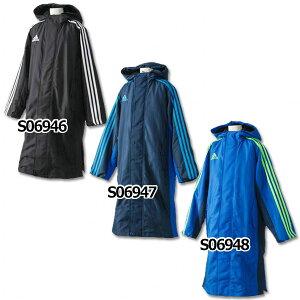 ジュニアSHADOWロングボアコート【adidas|アディダス】サッカージュニアウェアーjdp37