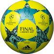UEFAチャンピオンズリーグ 2016-2017 決勝トーナメント レプリカ フィナーレカーディフキャピターノ イエロー 【adidas|アディダス】サッカーボール4号球af4401cay