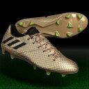 メッシ 16.1 FG/AG ライトコッパーメットS12×コアブラック 【adidas|アディダス】サッカースパイクba9109
