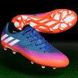 ジュニア メッシ 16.1 FG/AG J ブルー×ランニングホワイト 【adidas アディダス】サッカージュニアスパイクba9143