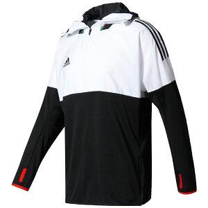 TANGOCAGEトレーニングトップホワイト×ブラック【adidas|アディダス】サッカーフットサルウェアーbwu84-az3587