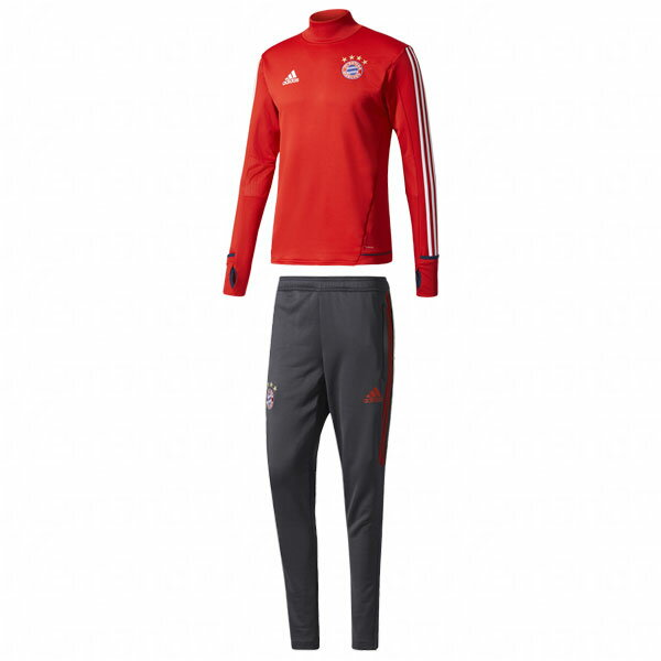 バイエルンミュンヘン 17-18 トレーニングスーツ 【adidas|アディダス】クラブチームウェアーdkv17-dku95