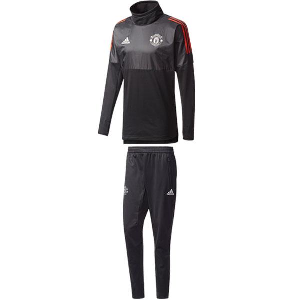 マンチェスターユナイテッド 17-18 UCL トレーニングスーツ 【adidas|アディダス】クラブチームウェアーdlg12-dlg10