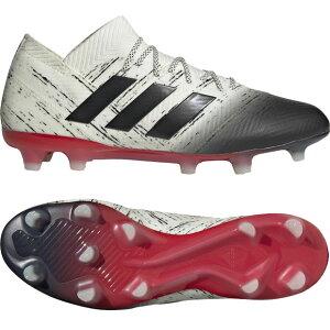 ネメシス18.1FG/AGオフホワイト×コアブラック【adidas|アディダス】サッカースパイクbb9425