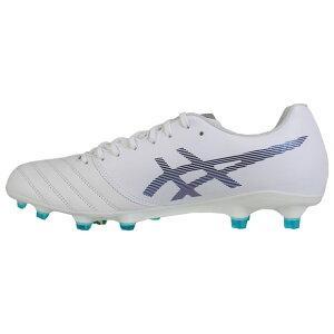 DSライトX-FLYPROホワイト×プリズムブルー【asics アシックス】サッカースパイク1101a025-100