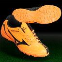 イグニタス 4 Jr AS オレンジ×ブラック 【MIZUNO|ミズノ】サッカーフットサルジュニアトレーニングシューズp1ge163254