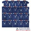 ジュニア サッカー日本代表 2018 ホーム ネーム&ナンバーマーキングセット kirin201809-mark-j