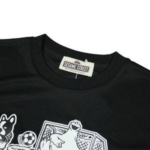 クッキーモンスターとパンディアーニくんDryTEE半袖Tシャツ【SoccerJunky|サッカージャンキー】サッカーフットサルウェアーsj18213