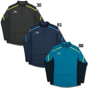 RACAトレーニングハーフジップジャケット【PENALTY|ペナルティ】サッカーフットサルウェアーpo9556