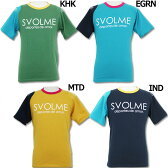 ベア天バイカラーTシャツ 【SVOLME|スボルメ】サッカーフットサルウェアー151-38000