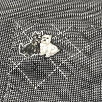 ブラックアンドホワイトメンズポロシャツ9016GS/YAドライUVケア