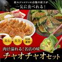 【送料無料】チャオチャオセット 肉汁溢れる!名店の味が一気に食べられる...