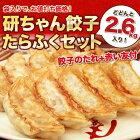 国産豚肉・国産野菜100%使用した研ちゃん餃子200個も入ったたらふく満腹セット【25個袋入×8】