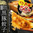 業務用餃子50個袋入り黒豚餃子