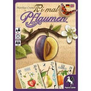 梅法 (Pi 瑪 Pflaumen) 卡類比遊戲桌遊戲 10P19Dec15
