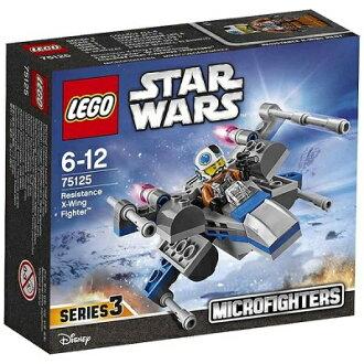 -樂高星球大戰微戰鬥反叛 X 翼戰鬥機 75125 樂高星球大戰 02P19Dec15