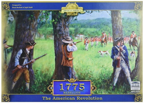 1775 - Rebellionボードゲーム アナログゲーム テーブルゲーム ボドゲ